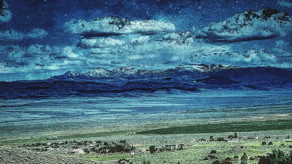 Beautiful Night Sky NEVADA, USA!♡ Nevada Nights