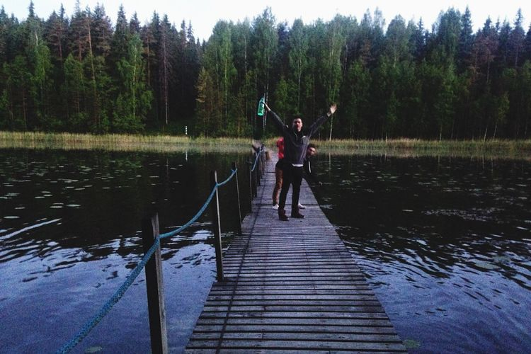 Russia Forest Trees Lake Outdoors Suomi Friends Escaping Taking Photos Hanging Out