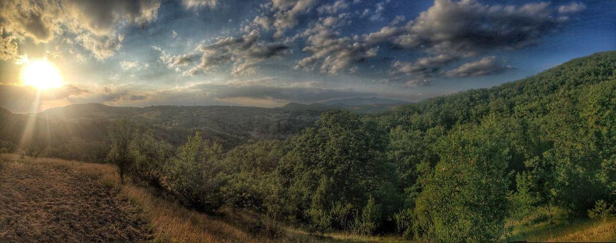 Village Banya Nature #sun Forest #air #clouds  #fresh Air Mountain Cottage Bulgarian Nature