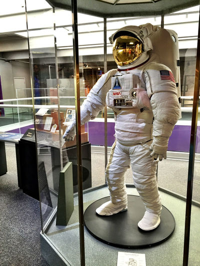 Let's go for a walk. EVA style Eva Lubbock Tx NASA Space Suit Science Display Science Spectrum Space Suit