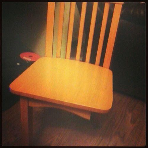 Lol @johni_son broke the chair last night Wahhhh