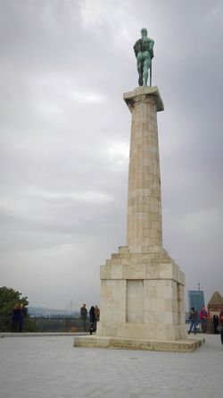 Architecture Built Structure Monument Travel Destinations History Architectural Column Cloud - Sky Famous Place Outdoors Tall - High Tourism The Past Beginner Serbia For Sale Landscape Begginer Belgrade Belgrade,Serbia Beograd Pobednik Winner