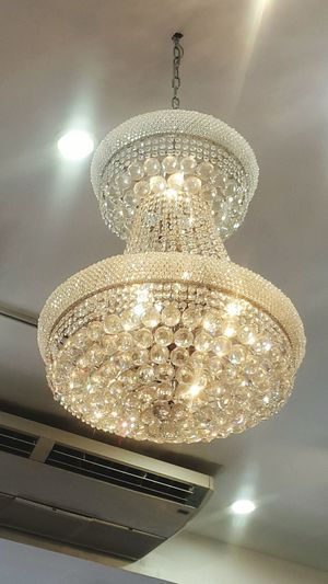 Because I love chandeliers Chandelier Lights Crystal Trinidad Portofspain Islandlife