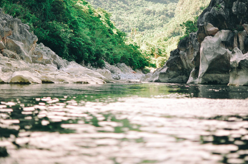 Adventure Daraitan Day Forest Geography Hiking No People Outdoors Philippines Rock Formations Tanay Tranquil Scene Tranquility Trees Water Water Reflections Waves
