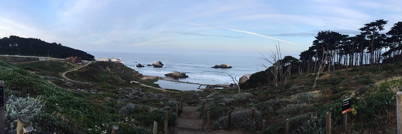 Land's end. Nature Beauty In Nature Sea Outdoors Beach Water Tree Scenics San Francisco Travel Travel Photography Vacations Sky Plants Trail