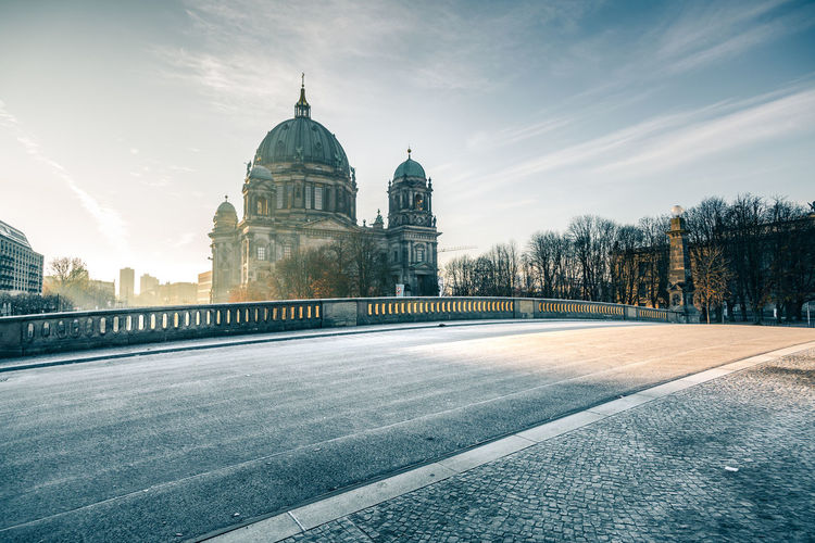 A wonderful morning in Berlin - it's frosty but very sunny, so i got some nice shots of Berlin Dome on my morning walk. Architecture Berlin Dome  Berlin Mitte Berlin Photography Bridge Building Exterior Cathedral City Cityscape Cloud - Sky Cold Temperature Cultures Day Dome Frosty Monuments Morning No People Outdoors Sky Sunny Travel Destinations Wide-angle Winter Winter Sun Market Bestsellers 2017