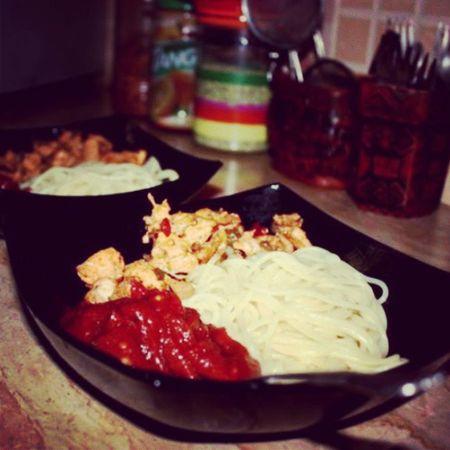 Food Pasta Chicken Tomatosauce mazay