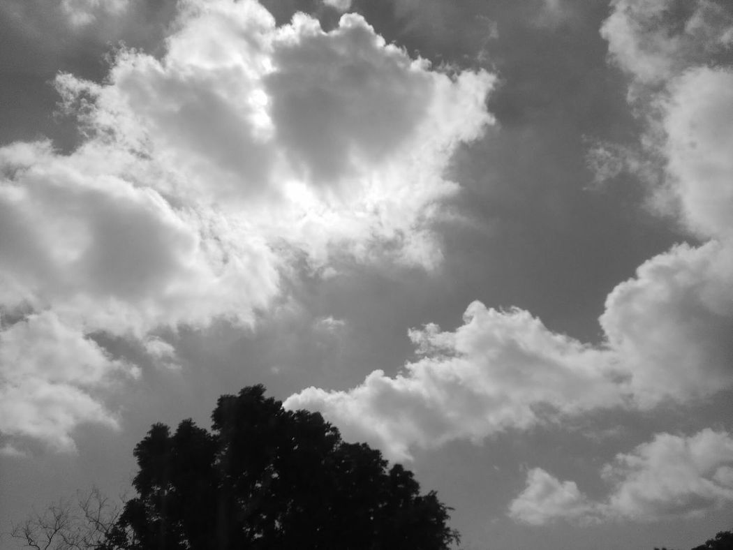 Sky And Clouds Sky Lover Out Of Town On The Road Philippines Black And White Photography