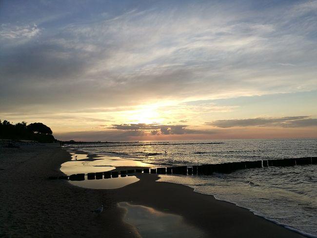 Beach Sea Sunset Sand Be. Ready.
