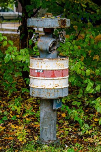 Man Made Object Rust Exposed To The Elements Hydrant Cityscape Autumn Wet Day FireFighting  Day Outdoors Close-up