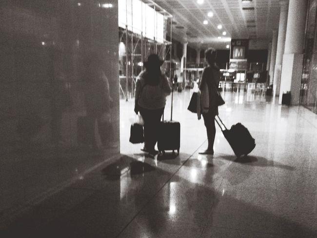 Barcelona Leaving Going Home
