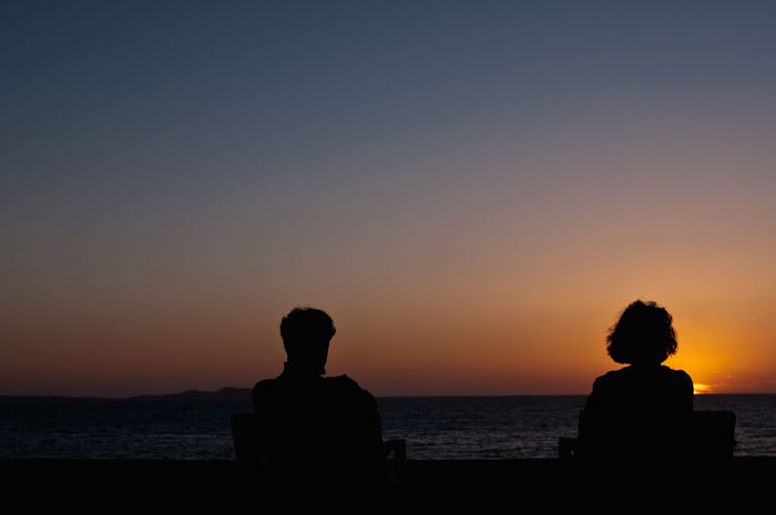 Siluet Ibiza Sunset Enjoying Life The Human Condition