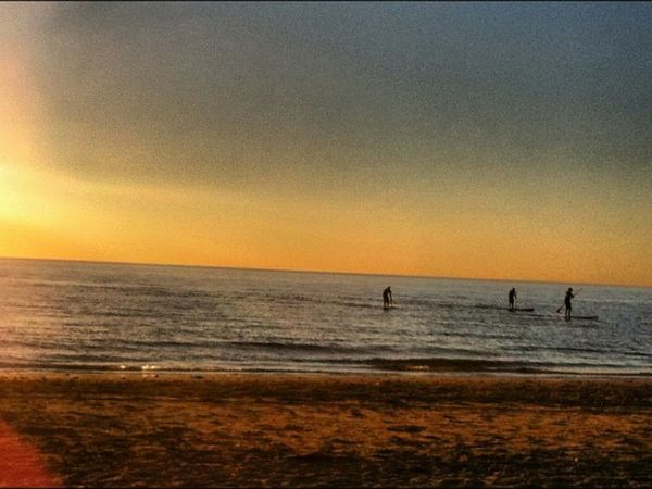 Paradise Beach Sunset Picoftheday Adelaide Beachlife Brighton Natural Beauty ByTheEndOfTheDay Beachfront