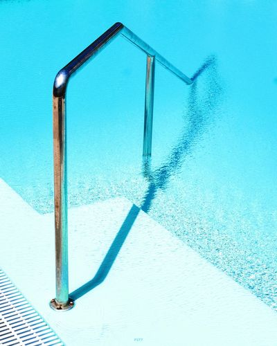 Swimming pool during sunny day