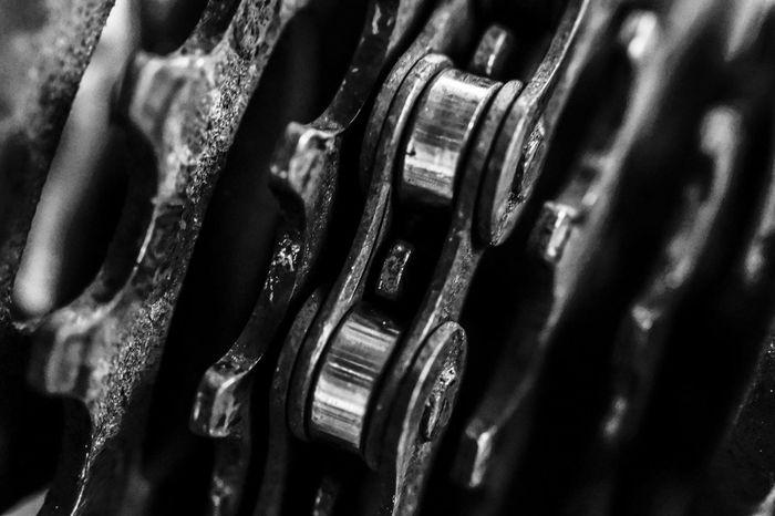 Bicicleta Bycicle Chile Close-up Detail Machine Part Nikon Nikon 1 J5 Part Of Nikon1j5 Metallic Metal Cadena