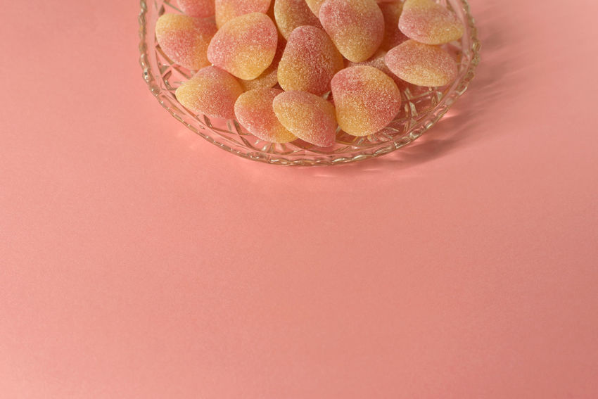 Sugared jelly sweets in crystal cut glass dish - on minimal pink background - centred design element, copy space Celebration Copy Space Pink Sugar Sugar coated background candies close-up crystal clear EyeEmNewHere Yellow Traditional Sweets Sweet Food Sugary Peach Party No People Minmalism Minimal Metallic Lollies Jelly Sweets High Angle View Hearts Close-up Candies Background Sugar Coated Sugar Pink Copy Space Celebration