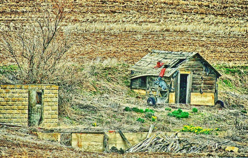 Fixer-Upper in Eastern Washington Rural Scene Eastern Washington Farm Scene Decrepit Run-down Architecture