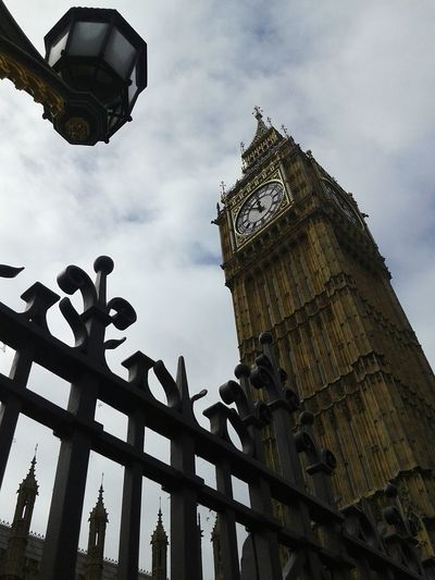 Big Ben Architecture Artificial Beauty Icon London United Kingdom Europe Summer August