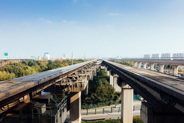 Architecture Bridge - Man Made Structure Built Structure Connection Day Outdoors Railway Bridge Transportation
