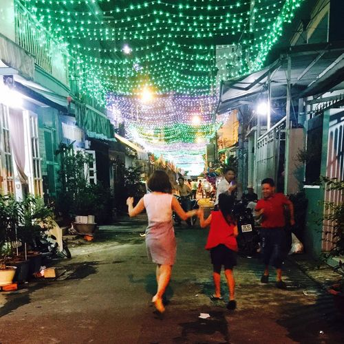 The Street Photographer - 2016 EyeEm Awards Dancing In The Street Enjoying Life Like A Child Happy Life Lights And People