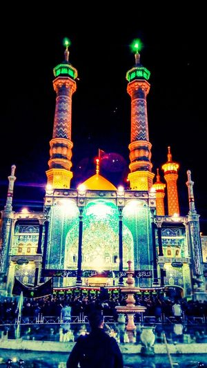This is iran;) and i love iran City Light Effect Night