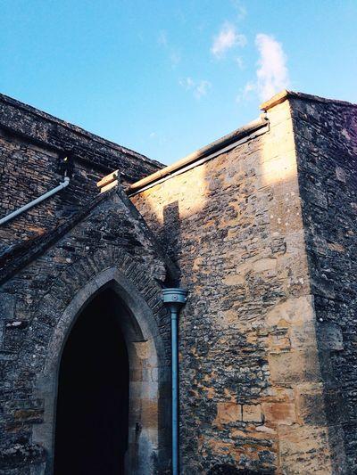 Church Blue Blue Sky Stone