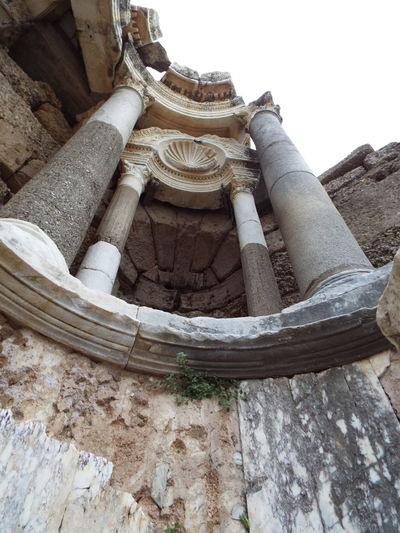 State Agora Tourist Destination Tourist Attraction  History Through The Lens  Historic Site Historical 💗 Side Side, Turkey Ancient Ancient Architecture Ancient Ruins Tourism Roman Architecture Roman Empire Roman Ruins Pillars Close-up