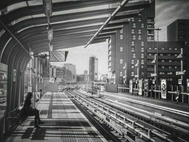 Blackwall Station. Londres, Reino Unido. Marzo de 2014. Blackwall London Subway