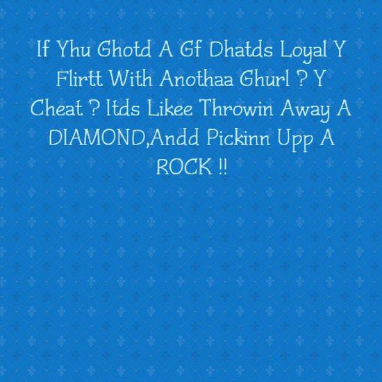 Unfaithful Hoeish Nhiggahs :-)