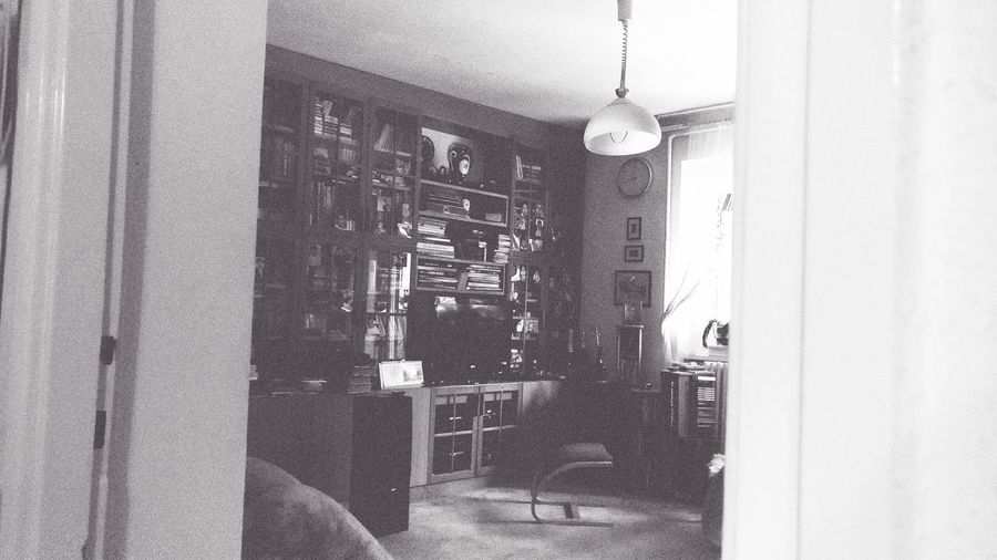 Afternoon vibes Blackandwhite Room Sepia Alone Winter Vibes Indoors  No People Day Hanging