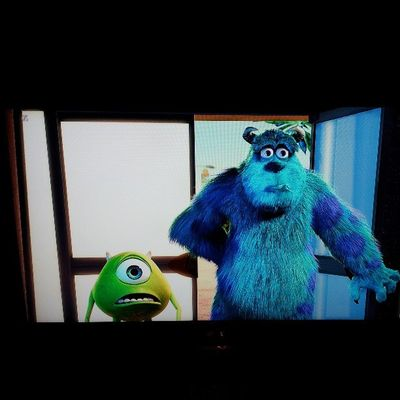 Oh ya! They scare bescause they care! Disney Monstersinc Sully Mike boo