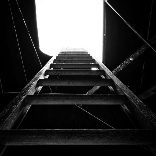 The light at the top of the Ladder . Black And White EyeEm Best Shots - Black + White EyeEm Best Shots Eye4photography  IPhoneography IPSPerspective