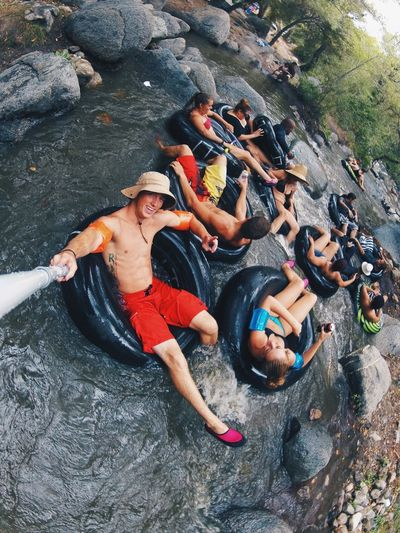 Where Do You Swarm? Intubes Downtheriver Goproing