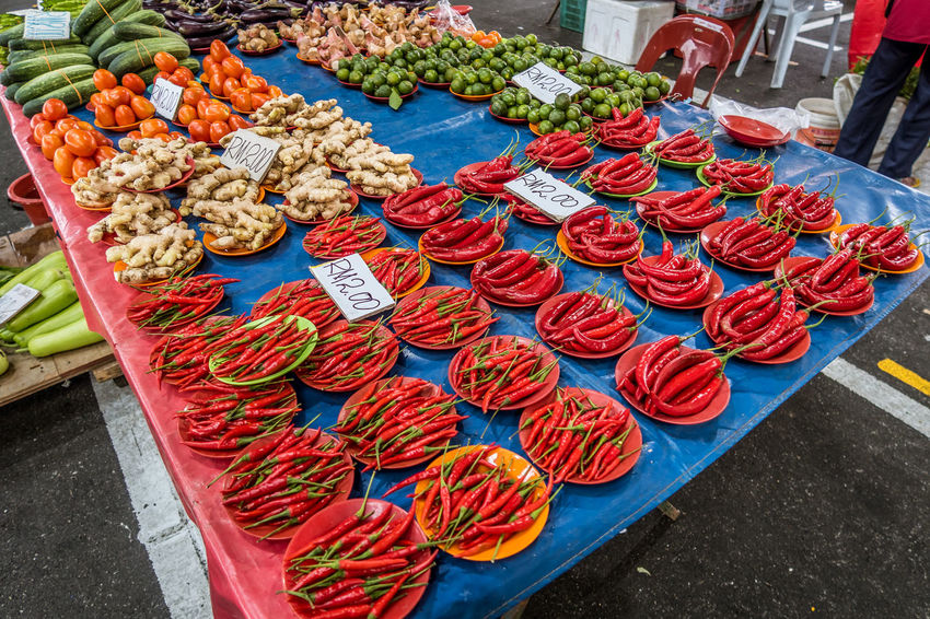 Canon G7X Chillies Colour Of Life Kuching Malaysia Red Spice Weekend Market