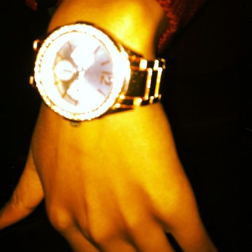 Teedy Got Golds All In Her Watch