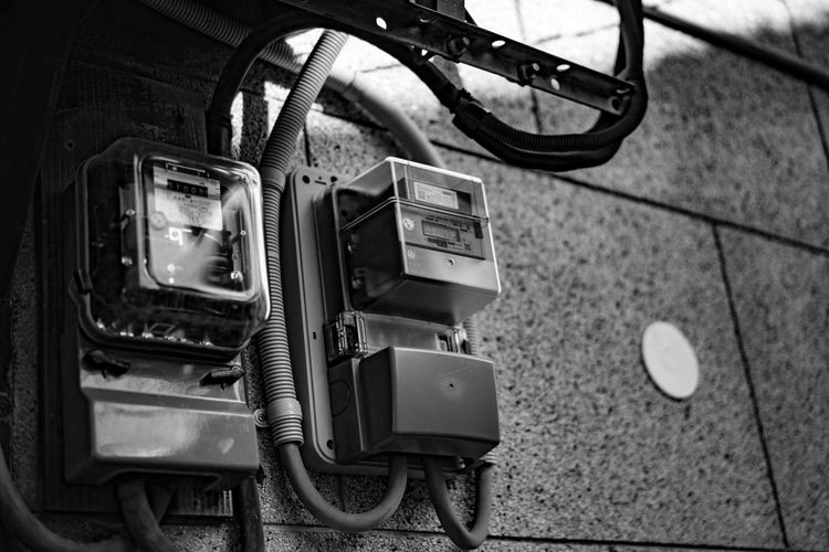 No People Technology Day Indoors  Close-up Japan Photography Japan Cable Electricity  Electric