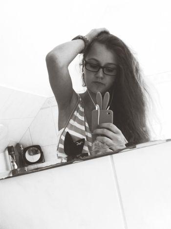 Blackandwhite - ILoveYou.♡ Bunny  HOLLISTER ❤