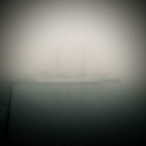 Gorch Fock Fog Foggy Foggy Morning Foggy Day Foggy Weather Tall Ship Sea And Sky Sail Away, Sail Away Sailing Sailor Stralsund  Stralsundmomente