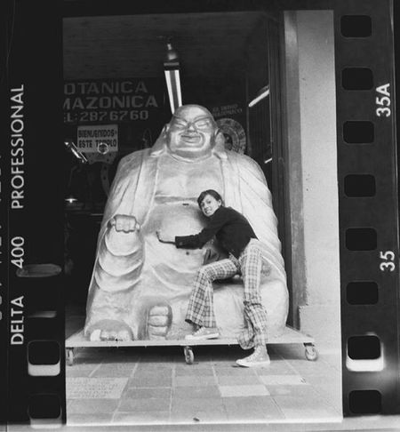 Canonae1 Film35mm Filmisnotdead SUERTE Fortuna Buda Avcaracas Digitalizacioncasera Fotografiaanaloga