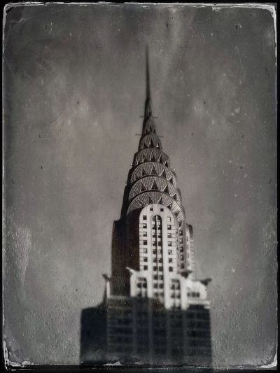 Chrysler Building NYC Tintype Chrysler Building NYC Sky No People Outdoors Cityscape City