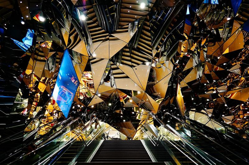 Mirror Kaleidoscope Entrance Escalator The Architect - 2016 EyeEm Awards Found On The Roll The Photojournalist - 2016 EyeEm Awards The Street Photographer - 2016 EyeEm Awards The Great Outdoors - 2016 EyeEm Awards Fine Art Photography
