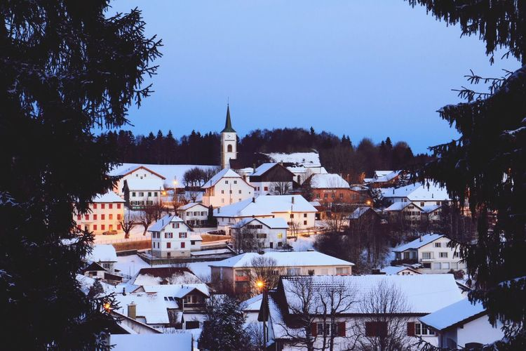 Cold Temperature Winter Scenics Outdoors