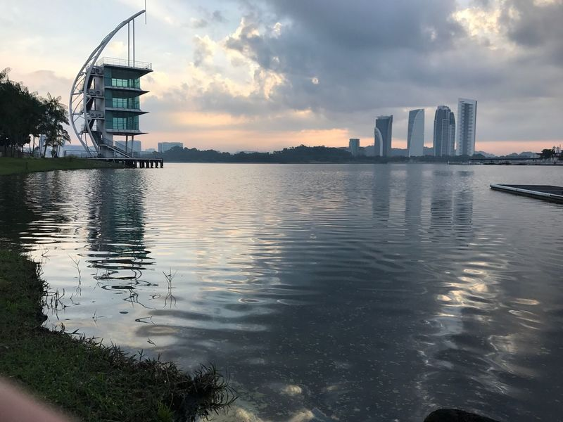Architecture Built Structure Skyscraper Building Exterior City Sky Modern Water Travel Destinations Urban Skyline Tower Reflection Cityscape Travel Waterfront River Cloud - Sky No People Day Outdoors Pullman Putrajaya,malaysia