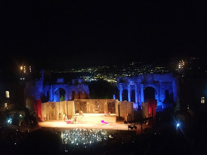 Puccini Tosca Arts Culture And Entertainment Music Performance Performing Arts Event Night Illuminated Architecture Built Structure Lighting Equipment