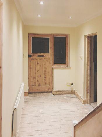 EyeEm Selects Door Home Interior Indoors  House Repairs Ceiling Lights Plasterwork Floorboards Coulsdon