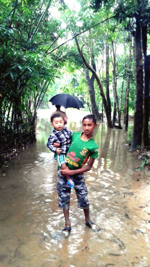 Flood in our village