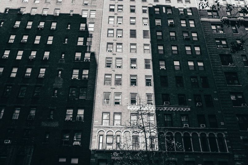 Architecture Building Exterior Built Structure Window Low Angle View Day Full Frame Outdoors Fire Escape City No People The Architect - 2017 EyeEm Awards