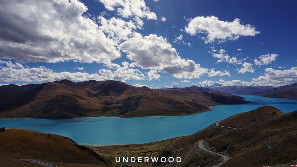 Nature Mountain Mountain Range Scenics Lake Nature Water Landscape Cloud - Sky Tibet Tibet Travel Tibet Life Travel