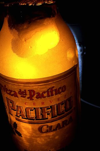 One Bottle of Beer Pacifico for The Week Of Eyeem TheWeekend The Weekend On EyeEm Nightlife Photos Around You Taking Photos 🍺🍻🍺