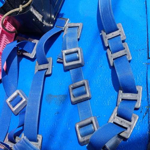 Blue Close-up Day No People Outdoors SCUBA Scuba Gear Water Weights Weights